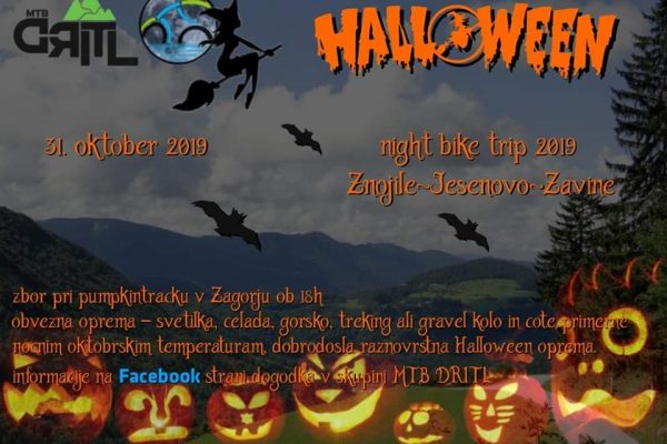 6. Halloween Night Bike Trip